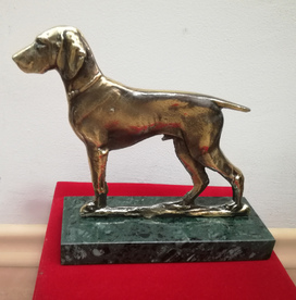 Dog - sculpture Bogdan Bondikov
