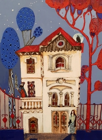 The house of harmony - painting by Mariana Mateva