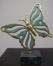 Butterfly - sculpture by Bogdan Bondikov
