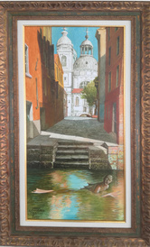 Venice -  painting by Ivan Stratiev