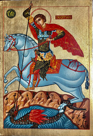 Saint George I - icon of Vasilka Zlatanova